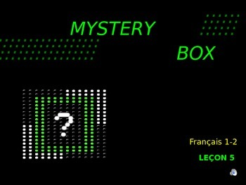 Discovering French Bleu - Lecon 5: Mystery Box -Awesome Po