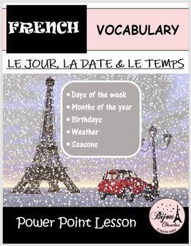 Discovering French Bleu-Unit 2 Lecon 4: PP Lesson - Le Jou