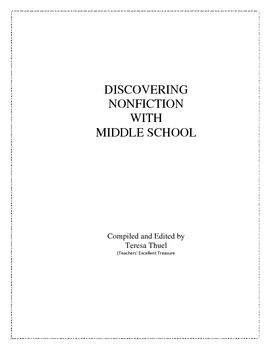 Discovering Nonfiction With Middle School
