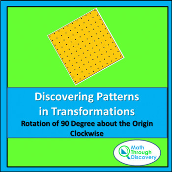 Discovering Patterns in Transformations - Rotation Clockwi