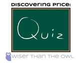 Discovering Price: Price Quiz