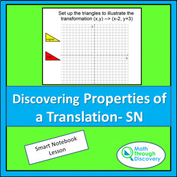 Geometry:  Discovering Properties of Translations