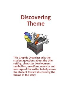 Discovering Theme for Grades 8-12