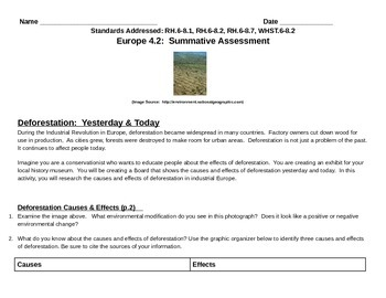 Discovery Education, Grade 7 SS Techbook: Ch. 4.2 Deforest
