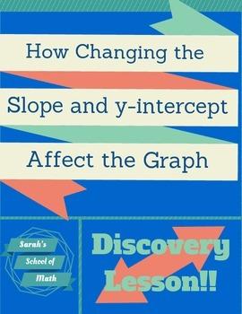 Discovery Lesson:  How Changing the Slope and Y-intercept