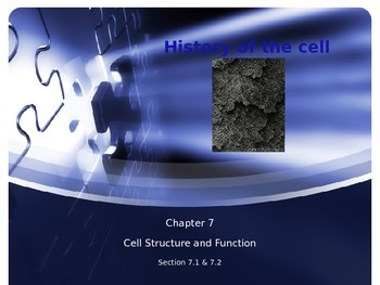 Cellular Structure & Function-Discovery of Cell & Structur