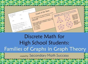 Discrete Math: Families of Graphs in Graph Theory