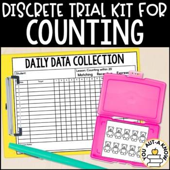 Discrete Trial Lessons for Counting (1:1 Correspondence th