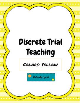 Discrete Trial Teaching Colors: Yellow