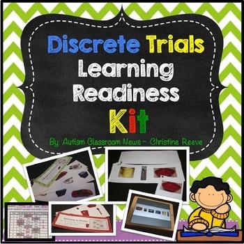 Discrete Trials Kit: Beginning Learner Skills (ABA, Autism