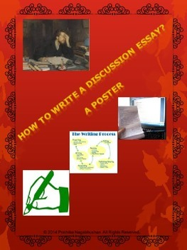 English: Discussion Essay Guidelines - A Handout & Poster