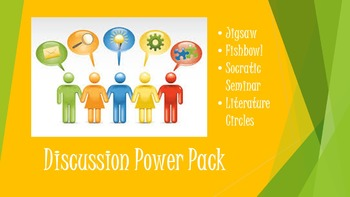 Discussion Power Pack (Jigsaw, Fishbowl, Socratic Seminar, etc.)