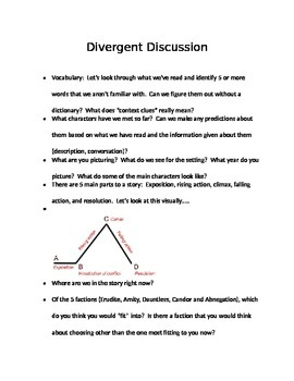 Discussion Question for Divergent