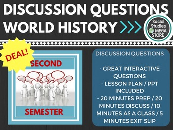 Discussion Questions Second Semester World History