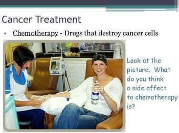 Diseases - Cancer w/worksheet (SMART BOARD)