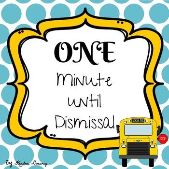 Dismissal Checklist
