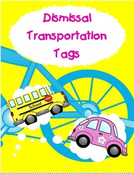 Transportation: Car Bus Walker Bike Aftercare Van