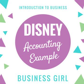Disney Accounting Example