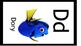 Disney Alphabet Cards Solid Black  Border