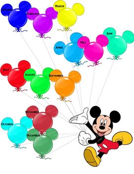 Disney Birthday Poster