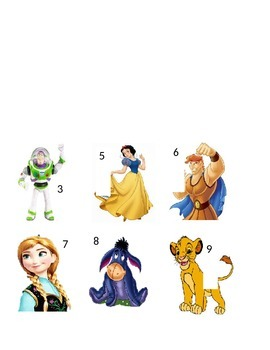 Disney Character Magnets