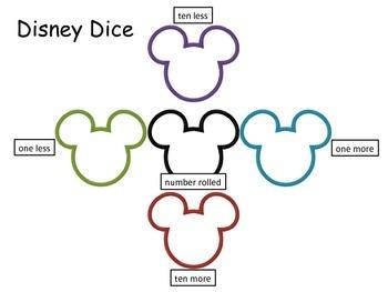 Disney Dice