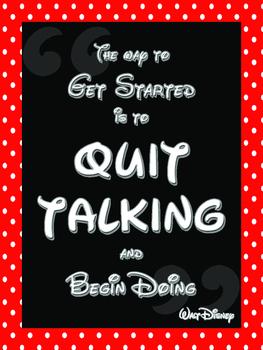 Disney Inspirational Quote