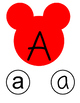 Disney/Mickey Letter Matching (Upper and Lower)