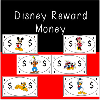 Disney Reward Money