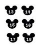 Disney Numbers