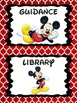 Disney Themed Classroom Signs