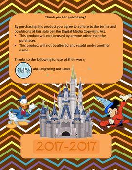 Disney Themed Teacher Binder 2015-2016