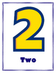 Disney theme Toy Story Numbers for bulletin board