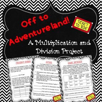 Theme Park Multiplication Project