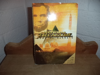 Disneys National Treasure  Book of Secrets  ISBN 13 -978-1