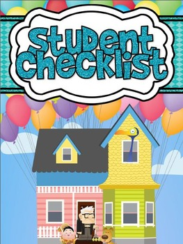 Movie Themed Student Checklist