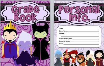 Villain Themed Grade Book
