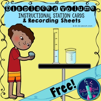 Displaced Volume Station Instructions & Recording Sheets {