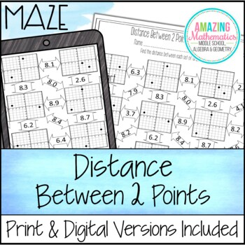 Distance Maze