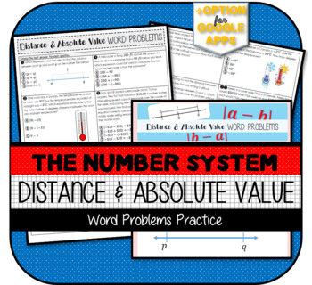 Distance between Two Rational Numbers (using Absolute Valu