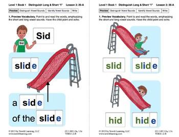 "Distinguish Long & Short ""I"": Lesson 3, Book 1 (Newitt Gra"