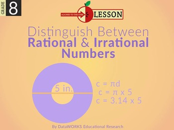 Distinguish between Rational and Irrational Numbers