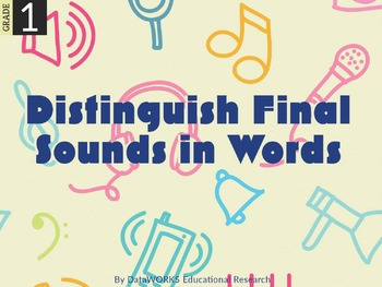 Distinguish Final Sounds in Words