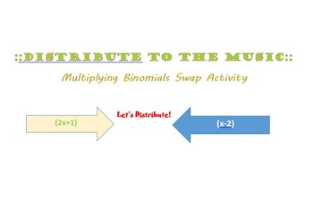 Distribute to the Music: Multiplying Binomials Activity