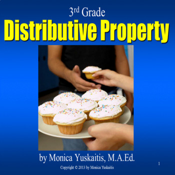 Common Core 3rd - Distributive Property