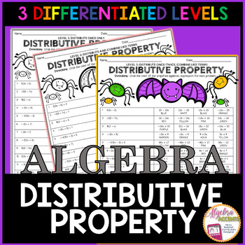Simplifying Expressions using the Distributive Property Co