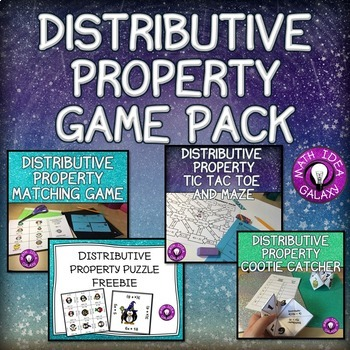 Distributive Property Activities and Games