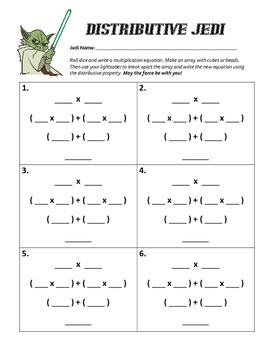 Distributive Property Jedi