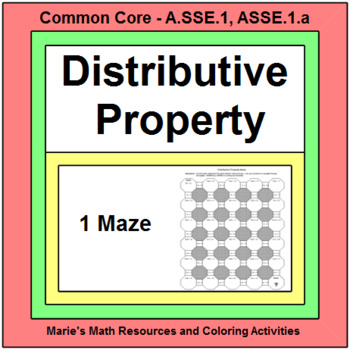 Distributive Property - MAZE