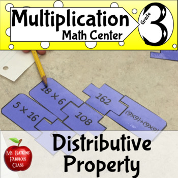 Distributive Property Multiplication Match